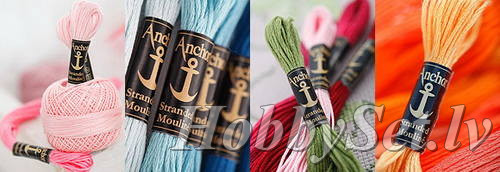 Anchor Stranded embroidery thread, 100% Egyptian cotton, 8m, Nr. 1070